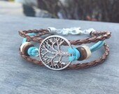 CELTIC Bracelet TREE of LIFE bracelet - bohemian bracelet Native American Tribal Bracelet Irish bracelet viking bracelet tree bracelet