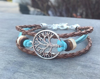 CELTIC Bracelet TREE of LIFE bracelet - bohemian bracelet Tribal Bracelet Irish bracelet viking bracelet tree bracelet