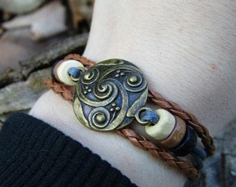 VIKING Bracelet - SHIELDMAIDEN bracelet CELTIC Bracelet Bohemian Bracelet Tribal Bracelet Irish bracelet thor bracelet