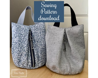 New! Kiss Wristlet Purse Sewing Pattern - Download & Print at Home