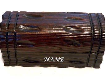 Caja de Regalo, Caja Vintage, Personalizado Cofre, Joyero Aniversario Marido, Joyero Reloj, Caja del Tesoro