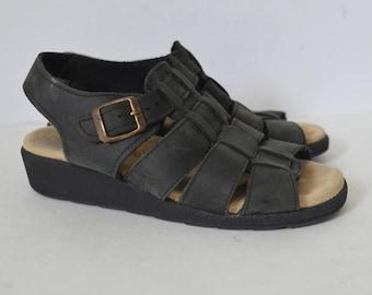 fdd2b7930d2ef Vintage Women's Gladiator & Strappy Sandals | Etsy DK