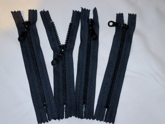 "20/"" TOP QUALITY BLACK /""OPTI/"" MOULDED OPEN END No5 TWIN SLIDER ZIP"