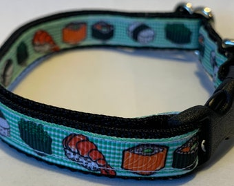 """Tiny Sushi Collar (1/2"""" wide)"""