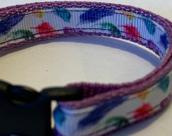 """Tiny Feather Collar (1/2"""" wide)"""