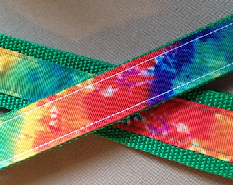 "1"" wide Tie Dye Collar"
