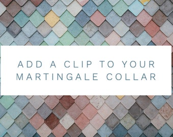 Add a Clip to a Martingale Collar