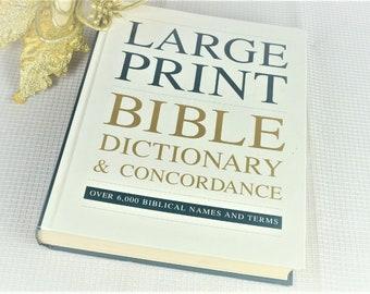 Bible concordance | Etsy