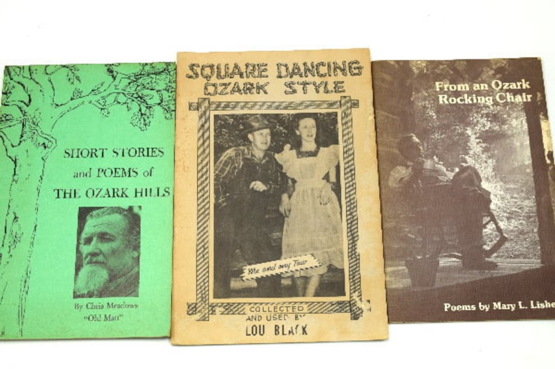 Vintage Books of the Ozark Hills Missouri Sheperd of the Hills image 0