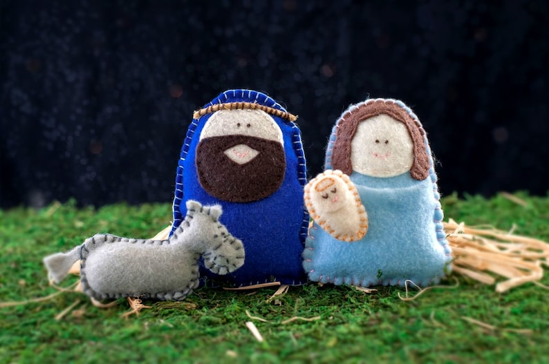 Felt Nativity Set Patterns image 0