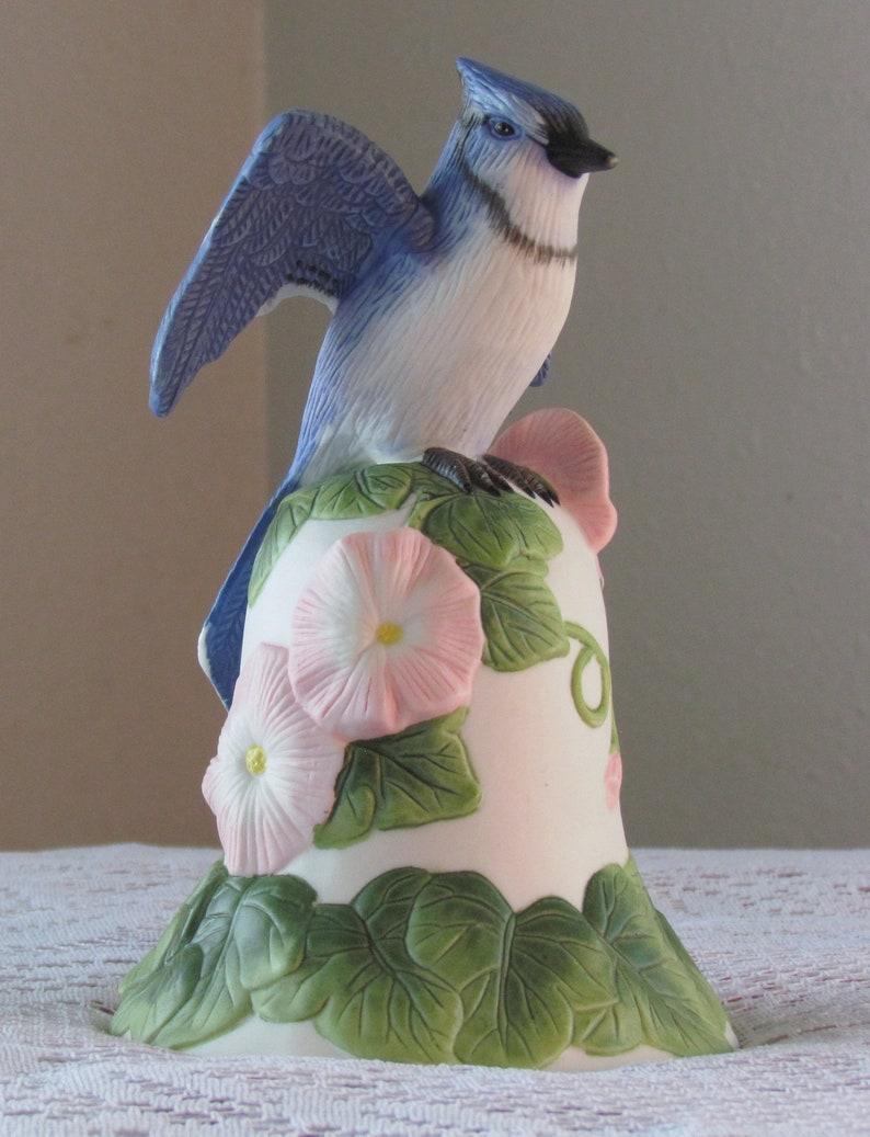 2001 AVON BLUEBIRD BELL Morning Glory