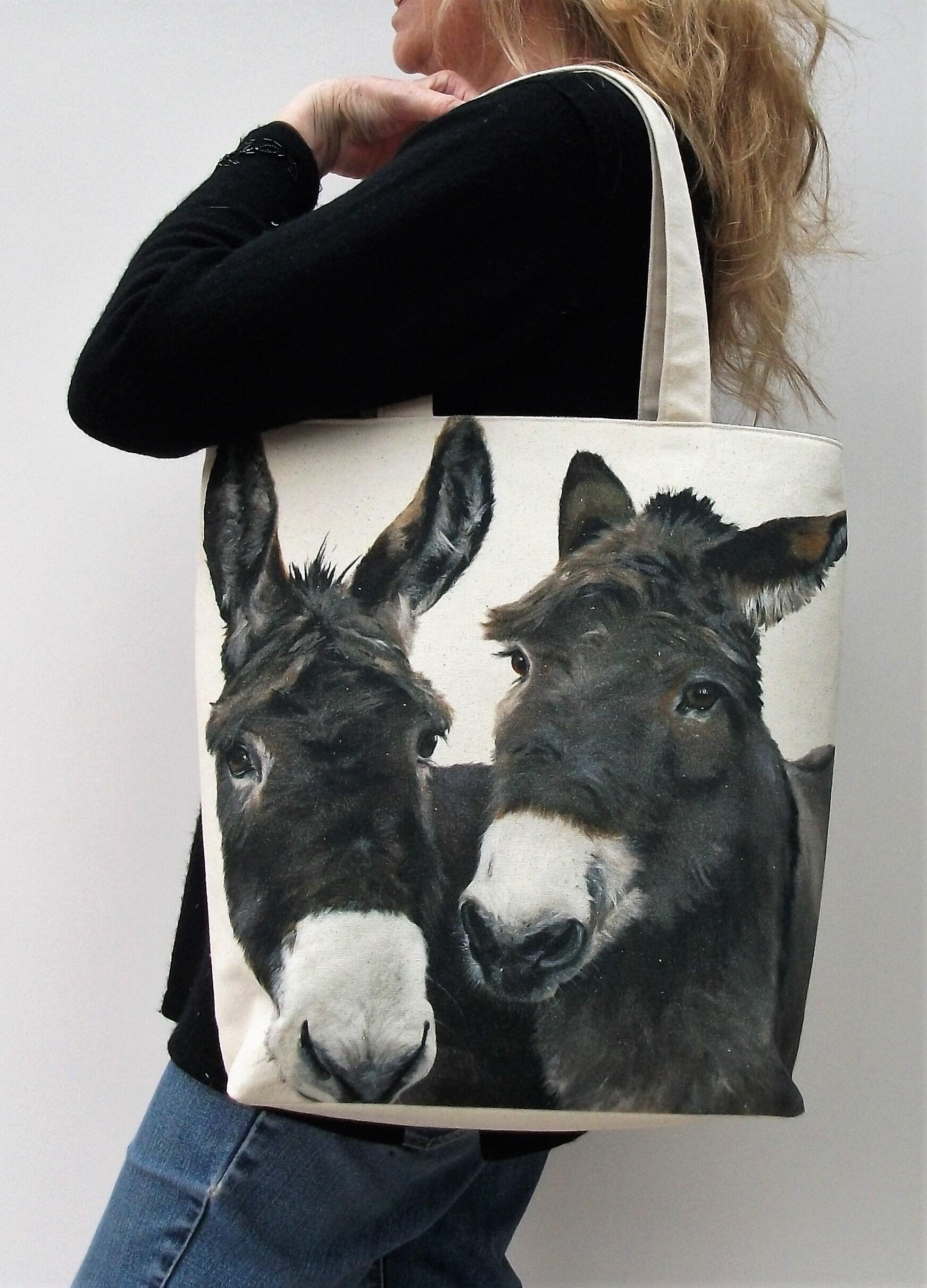 Donkey Who Tote Bag