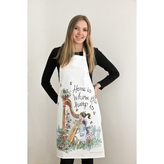 Apron - music themed