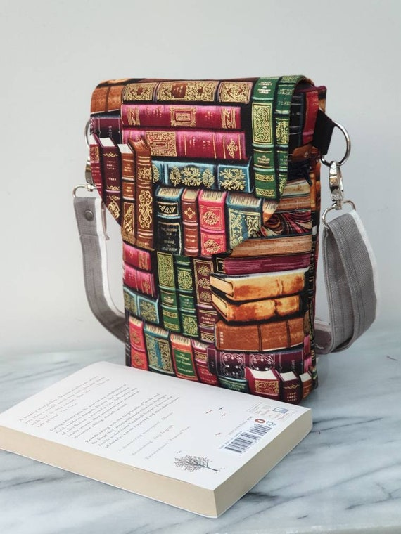 cross body bag, cross body pouch, book pouch, dog walker bag, small purse, shoulder bag, book bag,