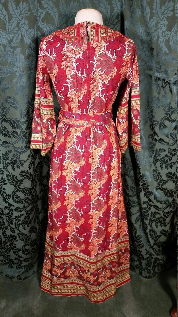 1960s Boho Hippie Dress from I. Magnin - image 5