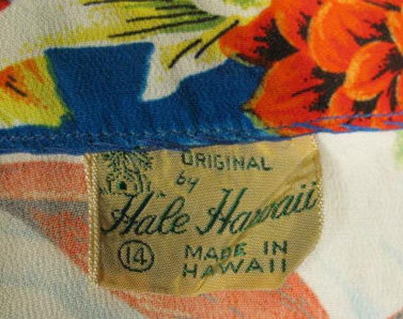 1940s Hale Hawaii Vintage Rayon Bolero Jacket Top - image 7