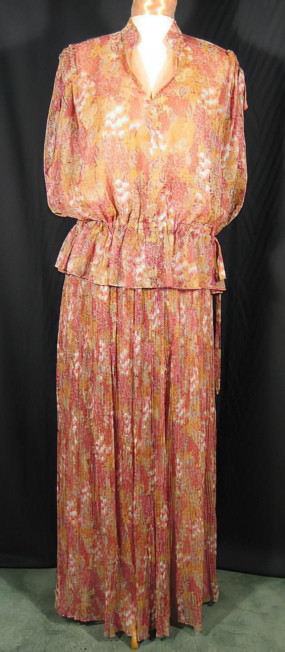 Eleanor Brenner 70s Dress / Lillie Rubin