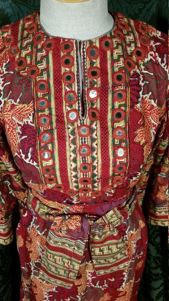 1960s Boho Hippie Dress from I. Magnin - image 3