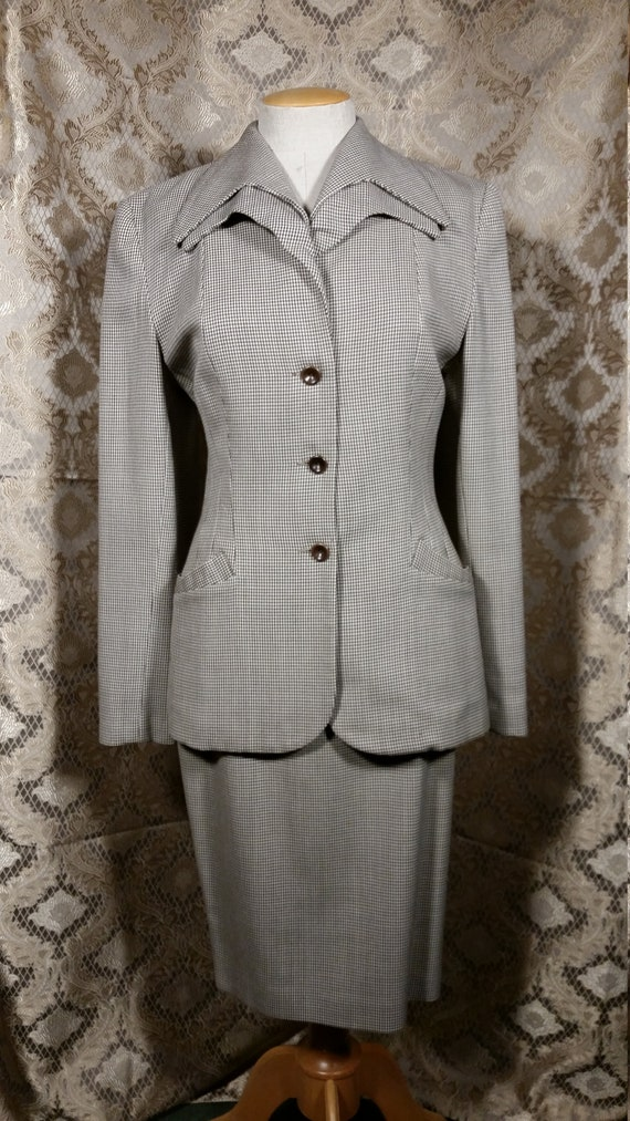 1980s Norma Kamali Power Suit