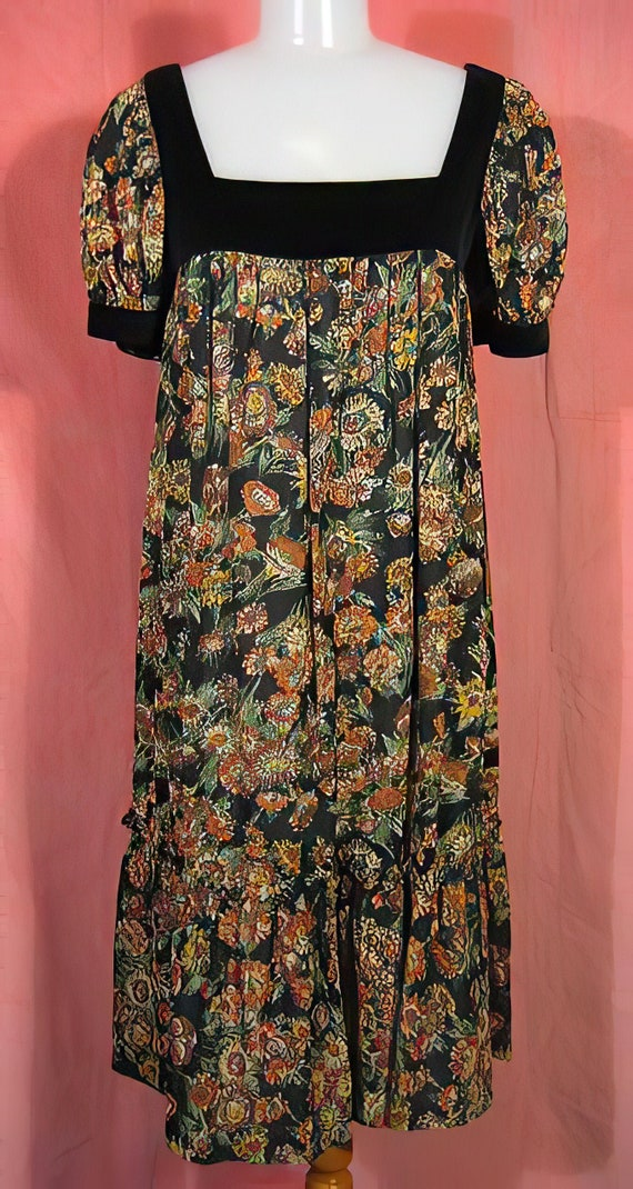 Vintage 70s Baby Doll Dress
