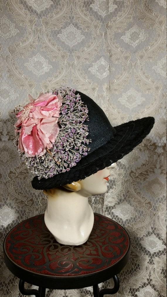 Vintage 1920s Belart Cloche Hat