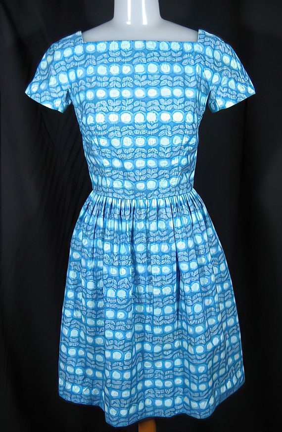 1950s Lanz Cotton Dress