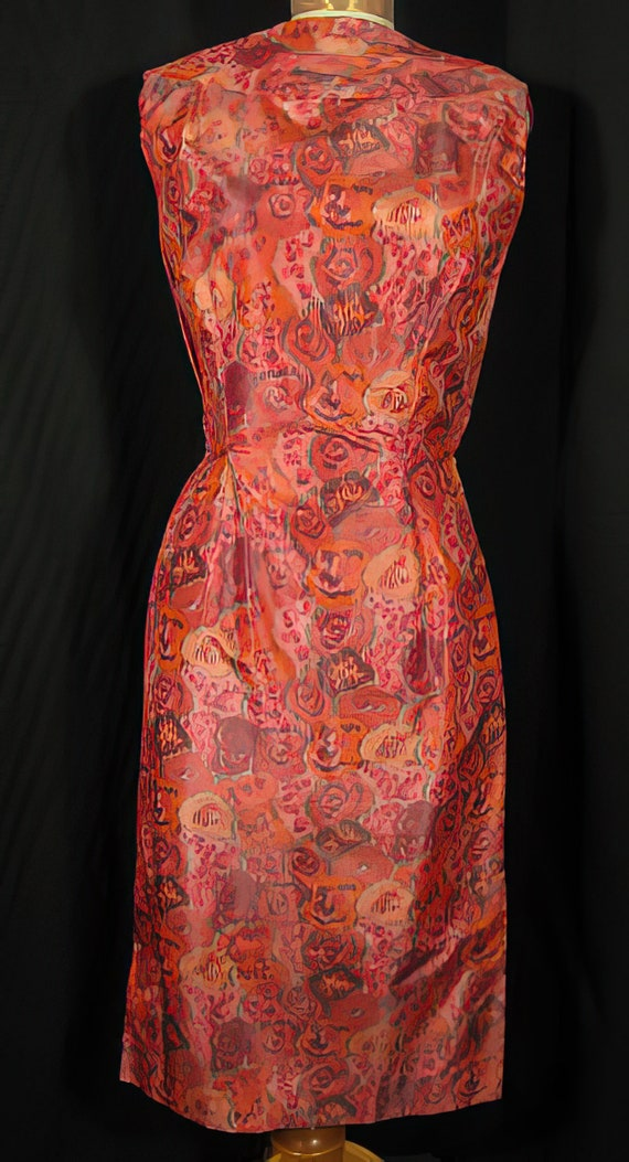 1950s Suzy Perette Cocktail Dress