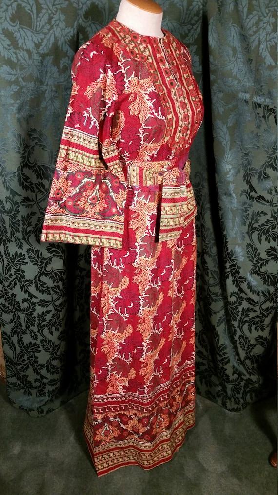 1960s Boho Hippie Dress from I. Magnin - image 4