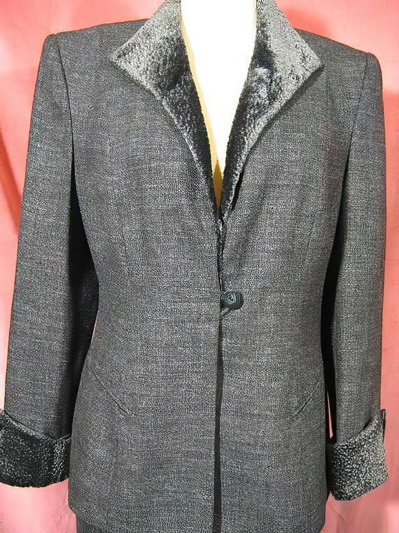 1970s Lilli Ann Gray Suit - image 2