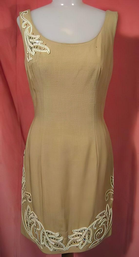 60s Mr. Blackwell Dress Bombshell Wiggle - image 2