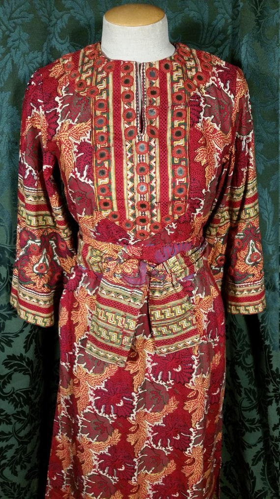 1960s Boho Hippie Dress from I. Magnin - image 2