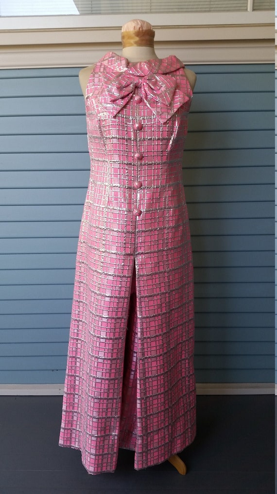 60s Hot Pink Jumpsuit from I. Magnin