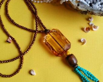 Tropical Treasures Necklace