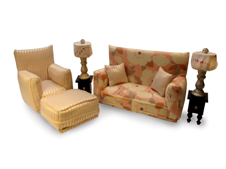Phenomenal Barbie Doll Living Room Furniture 9 Pc Play Set 1 6 Scale Machost Co Dining Chair Design Ideas Machostcouk