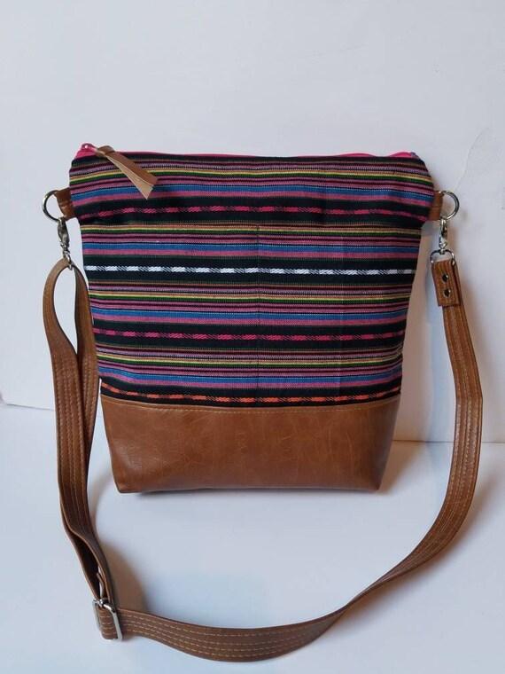 0d4b32611fae Vegan Leather Crossbody Bag Minimalist Women Bag Faux Leather