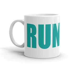 Run and Be Happy - Coffee Mug