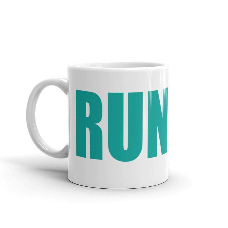 Run and Be Happy  Coffee Mug image 0