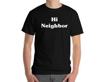 Hi Neighbor - Short-Sleeve T-Shirt