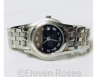 Gucci 5500L Swiss Quartz Bracelet Watch Free US Shipping