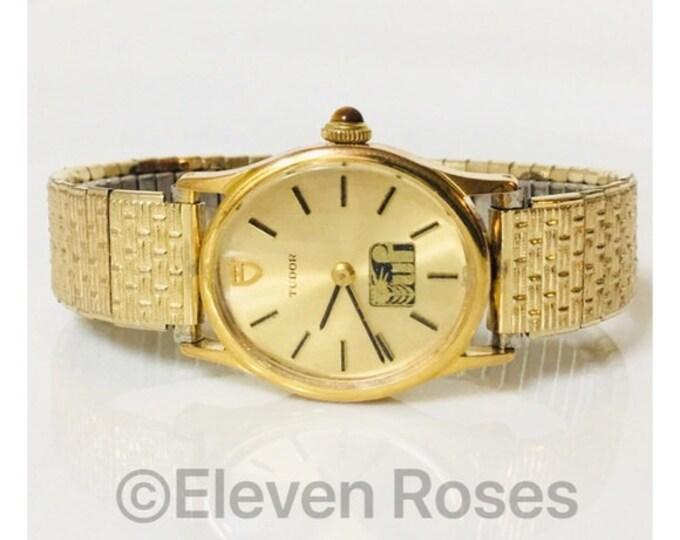 Vintage Lady's Tudor Mechanical Watch Free US Shipping