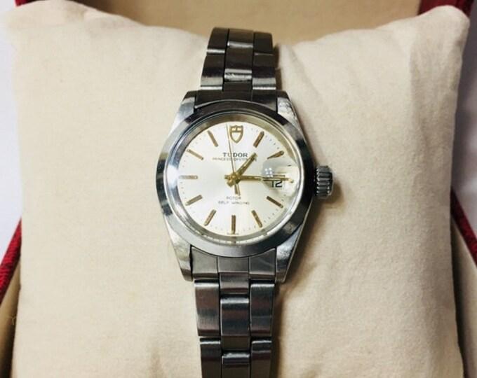 Vintage Rolex Tudor Princess Oysterdate Watch Free US Shipping