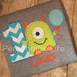 Monster Birthday Shirt/first Birthday/Monster 1st Birthday Shirt/Boy's Birthday Shirt/Boys Monster Birthday Shirt/monster birthday party.