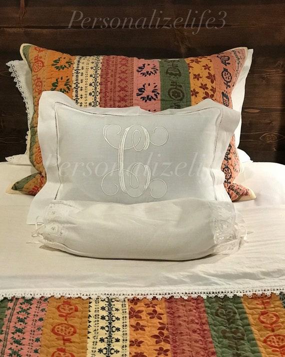 Pillow Cover Hemstitch Boudoir Pillow