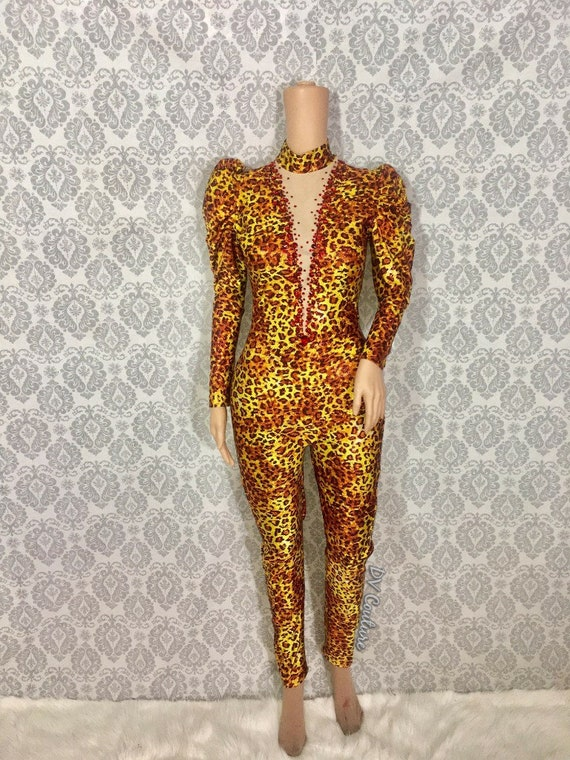 Jungle Poussey Catsuit
