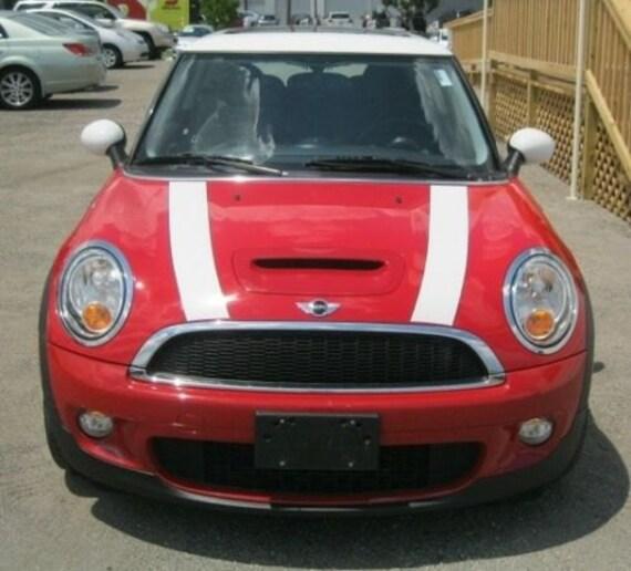 Mini Cooper Colors >> Mini Cooper 4 Vinyl Rally Stripes Racing Stripe Kit Multiple Colors Available