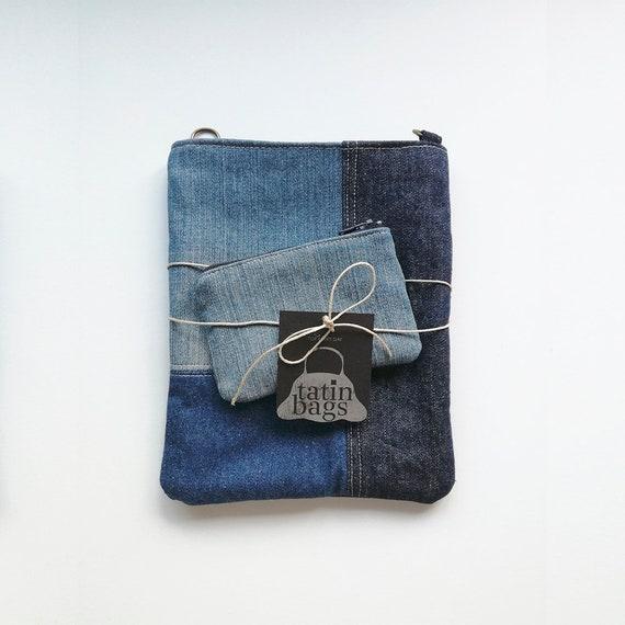 UmhängetascheHandy Sie Recycling Für InhaberReisetascheGesäßtascheWildleder TascheDenim Pass Kleine Jeans SchnurGeschenk n08Nmw