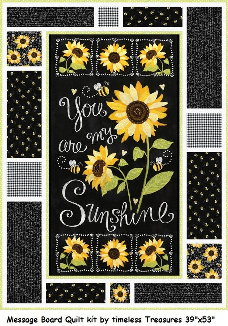 You Are My Sunshine Quilt  Sunshine Quilt  You Are My Sunshine Throw