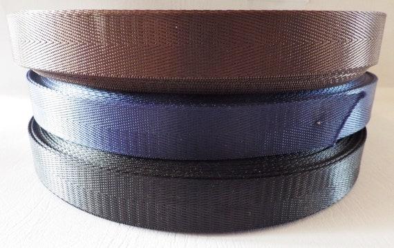 "Polypropylene Webbing Belt Strap Buckle Strapping 1//2/"" 5//8/"" 3//4/""1/""1.25/""1.5/"""