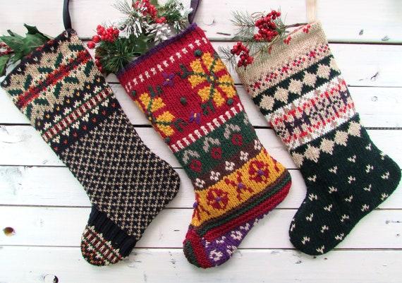 image 0 - Primitive Christmas Stockings