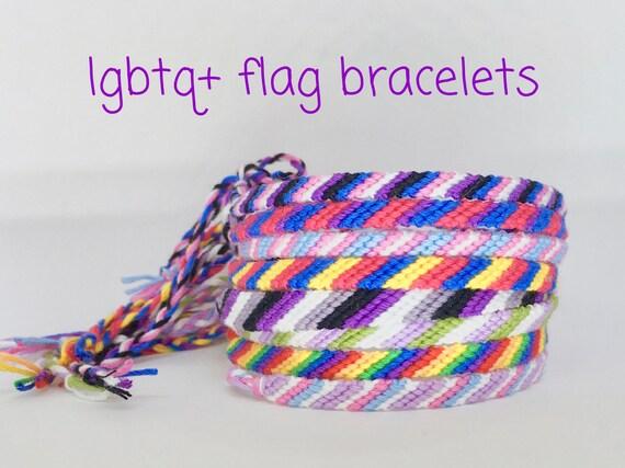 021f70738bb lgbt bracelet pride gay lesbian bisexual transgender pansexual intersex  asexual gend.